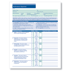 "ComplyRight Performance Appraisal Forms, 11"" x 17"", White, Pack Of 50"
