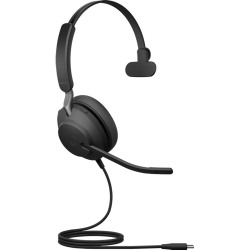 Jabra Evolve2 40 UC Mono - Headset - on-ear - convertible - wired - USB-C - noise isolating