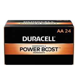 Duracell® CopperTop Alkaline Batteries, AA, Box Of 24 Batteries