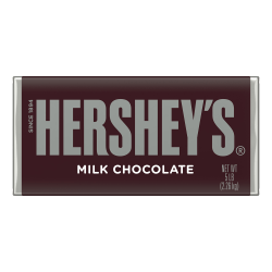 Hershey's® Giant Milk Chocolate Bar, 5 Lb