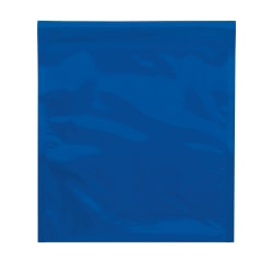 """Office Depot® Brand Metallic Glamour Mailers, 13"""" x 10-3/4"""", Blue, Case Of 250 Mailers"""