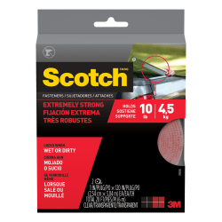 """Scotch® Indoor Fastener, 1"""" x 48"""", White"""