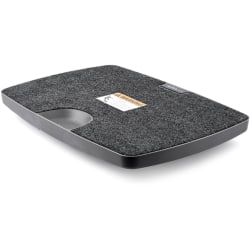 StarTech.com Balance Board for Standing Desks or Sit-Stand Workstations - Standing Desk Balance Board with Soft Carpet Surface - This balance board for standing desks gives you a fun and easy way to add gentle movement to your workday when standing
