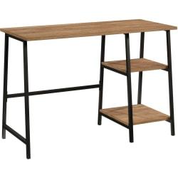 "Sauder® North Avenue 41""W Single-Pedestal Desk, Sindoori Mango"