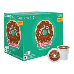The Original Donut Shop® Medium Roast Single-Serve K-Cup®, 0.39 Oz, Carton Of 48
