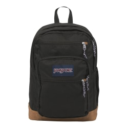 "JanSport® Cool Student Backpack With 15"" Laptop Sleeve, Black"