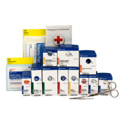 First Aid Only SmartCompliance 90578 Metal Refill Pack, Medium, 94 Pieces
