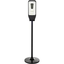 Alpine Automatic Gel Hand Sanitizer Dispenser With Floor Stand, White