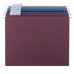 Smead® Hanging File Folders, Letter Size, Assorted Colors, Box Of 25 Folders