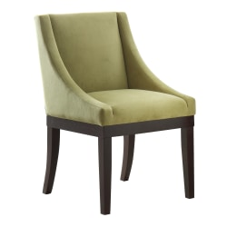 Ave Six Monarch Wingback Chair, Basil/Espresso