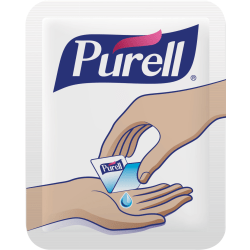 Purell® Singles Advanced Hand Sanitizer Individual Single-Use Packets, 1.2 mL, Case Of 2,000 Packets