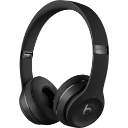 Beats by Dr. Dre Solo3 Wireless Headphones - The Beats Icon Collection - Matte Black - Stereo - Wireless - Bluetooth - Over-the-head - Binaural - Circumaural - Matte Black