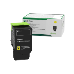Lexmark™ C231HY0 High-Yield Return Program Yellow Toner Cartridge