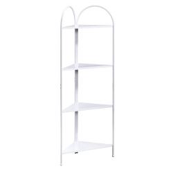 Sauder® Cottage Road Corner Tower, 4 Fixed Shelves, White