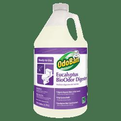OdoBan® Eucalyptus BioOdor Digester Refill, Floral Scent, 128 Oz Bottle