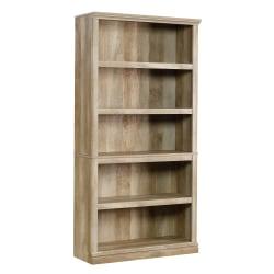 Sauder® Select Bookcase, 5 Shelf, Lintel Oak