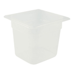 Cambro 1/6 Size Food Pan, Clear