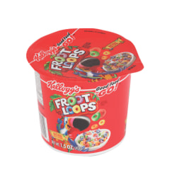 Kellogg's® Froot Loops Cereal-In-A-Cup, 1.5 Oz., Pack Of 6