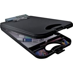 "Saunders® DeskMate II Portable Desktop With Calculator, 8 1/2"" x 12"", Black"