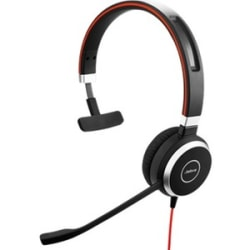 Jabra® Evolve 40 Microsoft® Lync Mono Wired Over-The-Head Headphones