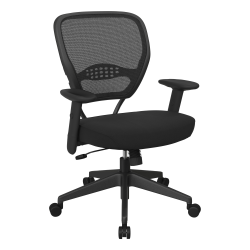 Office Star™ 55 Series Professional AirGrid Back Manager Office Chair, Icon Black