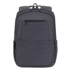 "RIVACASE Suzuka 7760 Backpack With 15.6"" Laptop Pocket, Black"