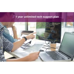 1-Year Unlimited On-Demand Tech Support And Tune Ups Plan, Annual Payment