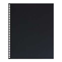 GBC® ProClick® 30% Recycled Prepunched Regency Covers, Black, Pack Of 25