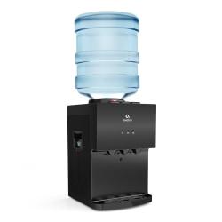 "Avalon Premium 3-Temperature Hot/Cold Top-Loading Countertop Water Dispenser, 19""H x 12""W x 13""D, Black"