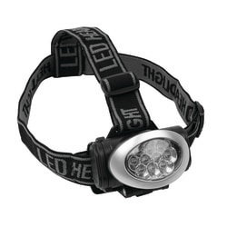 Office Depot® Brand 10-LED Headlamp, Silver