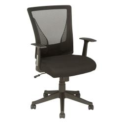 Brenton Studio® Radley Mesh Mid-Back Task Chair, Black