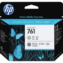 HP 761 (CH647A) Gray/Dark Gray Printhead