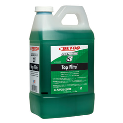 Betco® Top Flite™ Fastdraw™ All-Purpose Cleaner, Fresh Scent, 67.6 Oz, Green, Box Of 4 Bottles