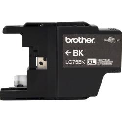 Brother® LC75BK High-Yield Black Ink Cartridge