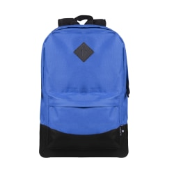 "Volkano Daily Grind Backpack With 18.1"" Laptop Pocket, Royal Blue"