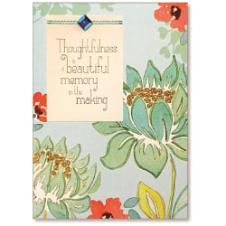 """Viabella Thank You Greeting Card, Thoughtfulness, 5"""" x 7"""", Multicolor"""