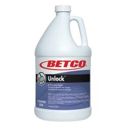 Betco® Unlock Floor Stripper, 1 Gallon, Pack Of 4