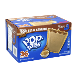 POP-TARTS Brown Sugar Cinnamon, 36 Count