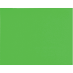 """Lorell® Magnetic Dry-Erase Glass Board, 48"""" x 36"""", Mount Green"""