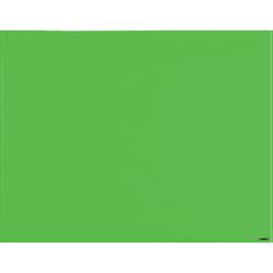 "Lorell® Magnetic Unframed Dry-Erase Glass Whiteboard, 48"" x 36"", Mount Green"