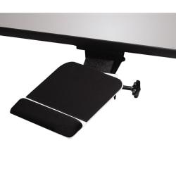 KellyREST™ Dual Swivel Adjustable Mouse Platform, Black
