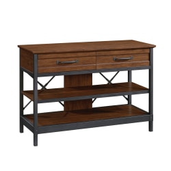 "Sauder® Carson Forge Anywhere Console for 50"" TVs, Milled Cherry"