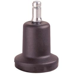 "Master Caster® Bell Glide Casters, Stem B, 7/16"" x 7/8"", Pack Of 5"