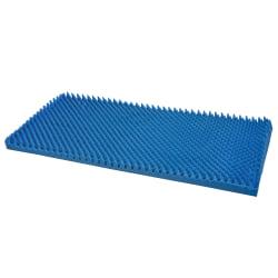 DMI® Convoluted Foam Mattress Topper, Queen, Blue