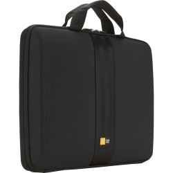 "Case Logic® Hard Shell 13.3"" Laptop Sleeve, Black"