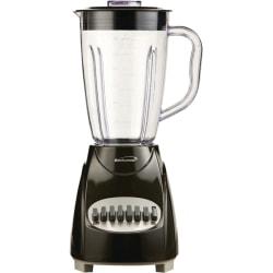 Brentwood® 12-Speed Blender With Plastic Jar, Black
