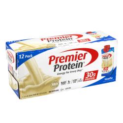 Premier Protein Vanilla Protein Shake, 11 Fl Oz, Pack Of 12