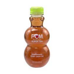 Pom Antioxidant Super Tea Pomegranate Tea, Honey Green Tea, 12 Oz, Carton Of 6
