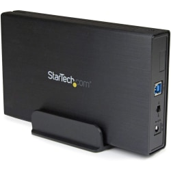 """StarTech.com USB 3.1 (10Gbps) Enclosure for 3.5"""" SATA Drives - Supports SATA 6 Gbps - Compatible with USB 3.0 and 2.0 Systems - Hot Swappable Bays - 1 x HDD Supported - 1 x 3.5"""" Bay - Aluminum, Plastic"""