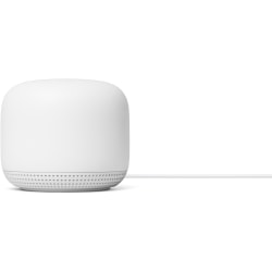 Google Nest IEEE 802.11ac Ethernet Wireless Router - 2.40 GHz ISM Band - 5 GHz UNII Band - 275 MB/s Wireless Speed - 1 x Network Port - 1 x Broadband Port - Gigabit Ethernet